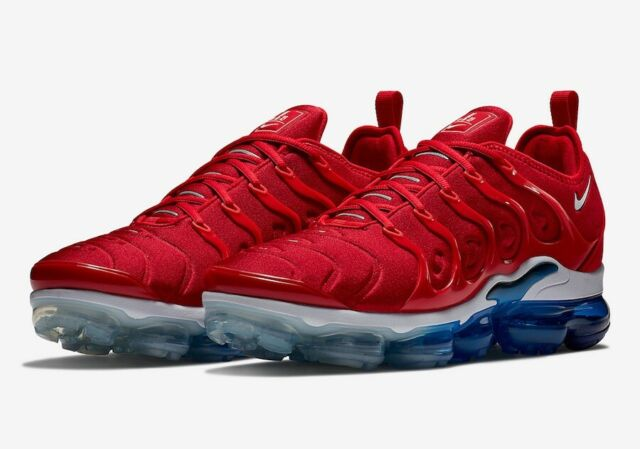 "b5a37cb80d Nike Air Vapormax Plus ""USA"" University Red/White 924453-601 Men Sizes"