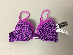 ce7f11d46d NWT Women s Rampage Intimates Lightly Padded Bra Size 34B Purple ...