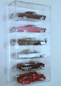 6 Compartment Acrylic Display Case MAISTO Diecast KYOSHO Diecast ERTL Diecast