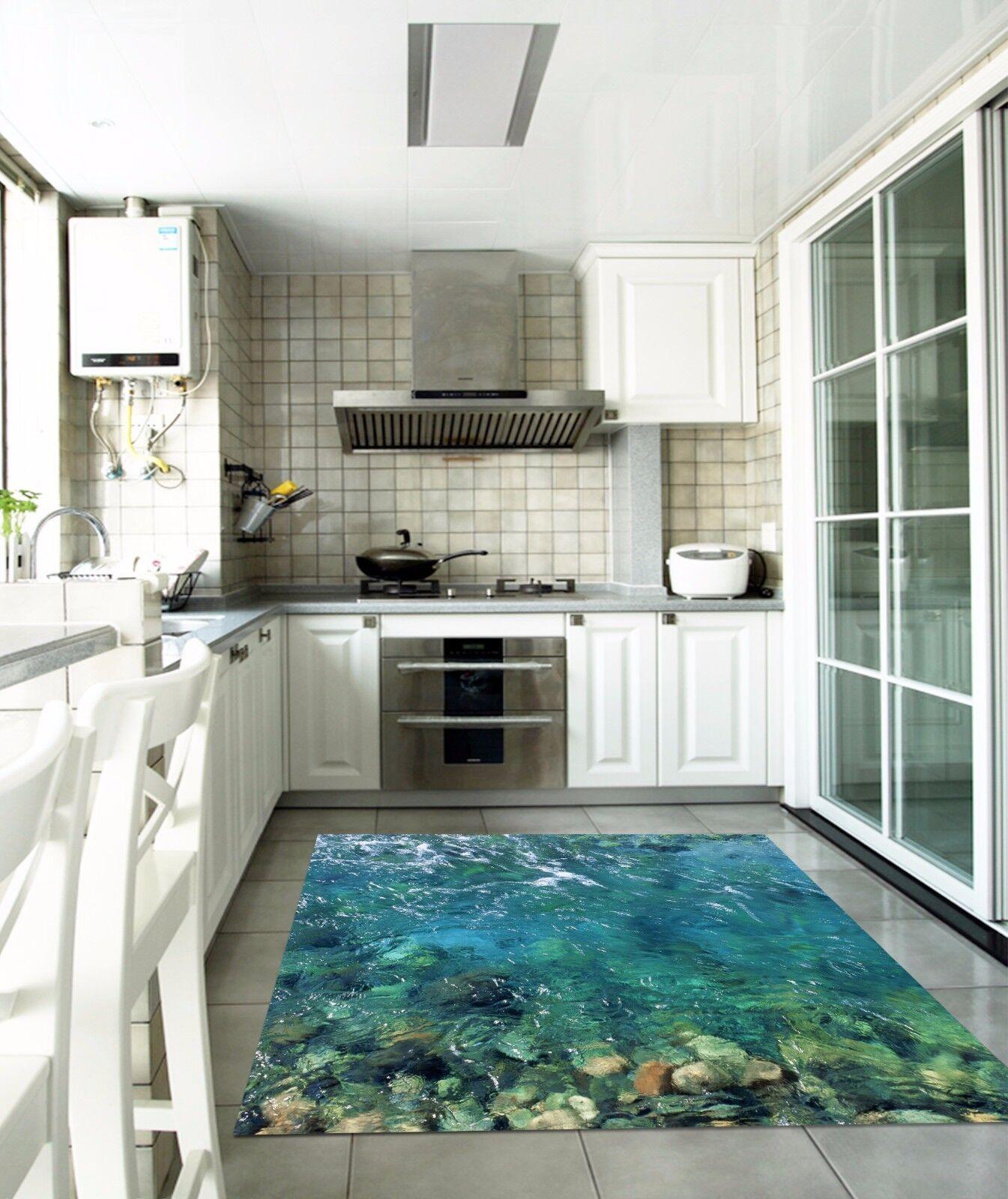 3D Sea Stone 835 Kitchen Mat Floor Murals Wall Print Wall AJ WALLPAPER UK Kyra
