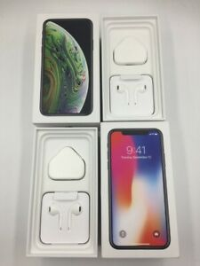 new style 6b878 b73b5 Details about GENUINE APPLE IPHONE X/XS/XS MAX/XR EMPTY BOX WITH OR WITHOUT  ACCESSORIES