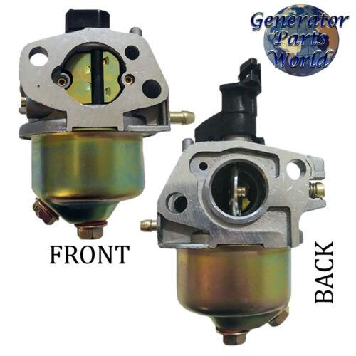 A-iPower Carburetor w// Gaskets Line for AP5000 SUA4500 4000 5000 Gas Generator
