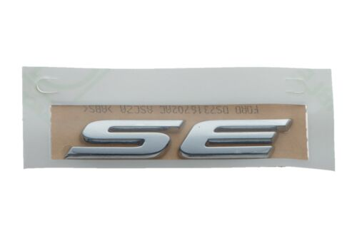 2013-2017 Ford Fusion SE Chrome Emblem Nameplate Decal OEM NEW DS7Z-9942528-B
