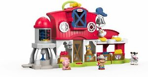 Fisher-Price - Caring for Animals Farm - Red