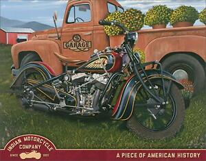 Jacobs-Indian-Motorcycle-Company-Indian-Summer-Tin-Metal-Sign-16-034-W-x-12-5-034-H