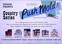 Amaco Polymer Clay Molds - House & Church Fronts - Choose Your Style