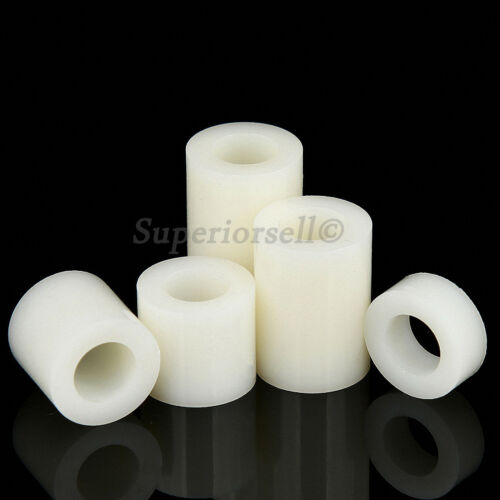 M3 M4 Nylon Plastic Spacers Standoff White Round Washers ABS Casing