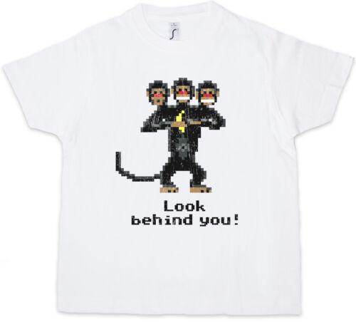 Kids Boys T-Shirt The Secret Three Headed Monkey of Monkey Island