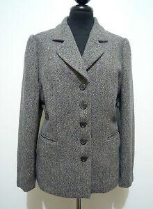 Luisa Woman 46 Wool Lana Spagnoli Sz Jacket Giacca Donna l gqw6Hr7gF
