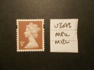 GB-2013-Security-Machin-5p-SG-U3073-MPIL-M13L-Unmounted-Mint-UK-Seller