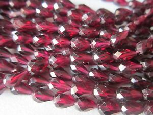 13inch-garnet-faceted-top-drill-drops-4x7mm-to-5x8mm-beads-one-strand