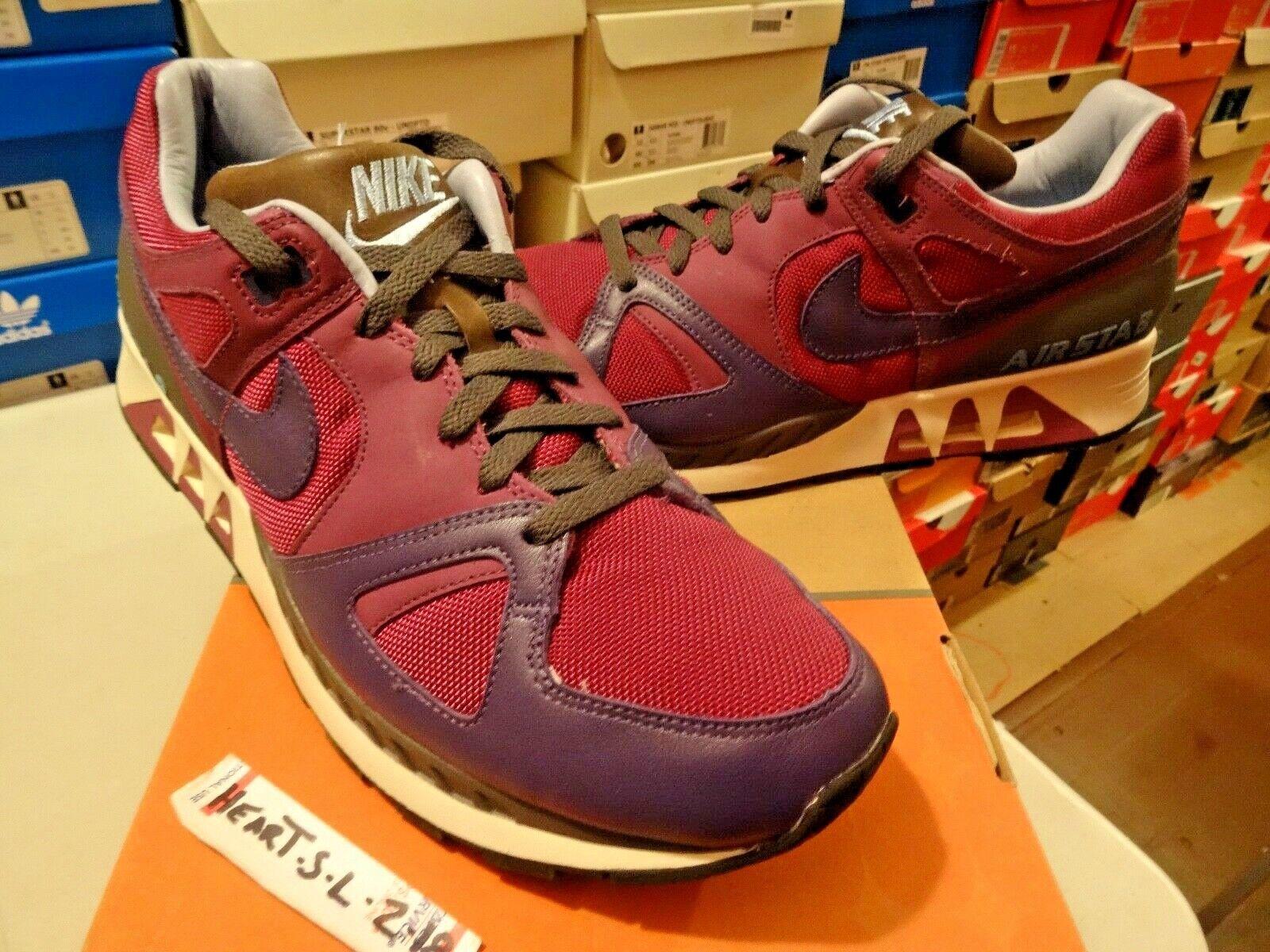 NEW Nike Air Max Stab Premium SP + Air U Breathe + Ink viola 314250-651 SZ 13