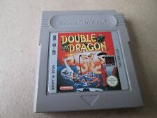 Nintendo GB Gameboy Original Double Dragon Cart Only Tested UK PAL