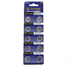 10X AG13 SR44 LR44 L1154 357 A76 Alkaline batteries button cells watch camera FT