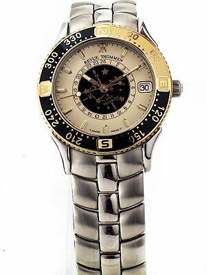 Armband- & Taschenuhren Armbanduhren Pflichtbewusst Luxus Unisex Revue Thommen Uhr Star Trekking Saphir Glas Crem Farbig Ref.5817003 Ausgezeichnet Im Kisseneffekt