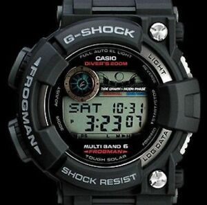 6fe00cf9549 New!! CASIO G-SHOCK FROGMAN GWF-1000-1JF Multiband 6 Solar Men s ...