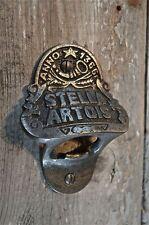 FANTASTIC VINTAGE STYLE STELLA ARTOIS BOTTLE OPENER BAR MOUNT BEER CAP REMOVER