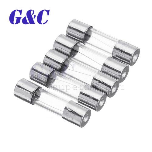 50//100PCS 0.5A 250V Fuses 0.5 Amp Ceramic Fuse Fast Quick Blow 5×20mm F0.5AL250V