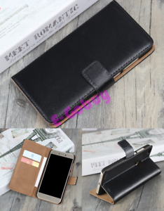 De-Luxe-Veritable-Cuir-a-Clapet-Support-Housse-Etui-pour-Divers-Portable-Phones
