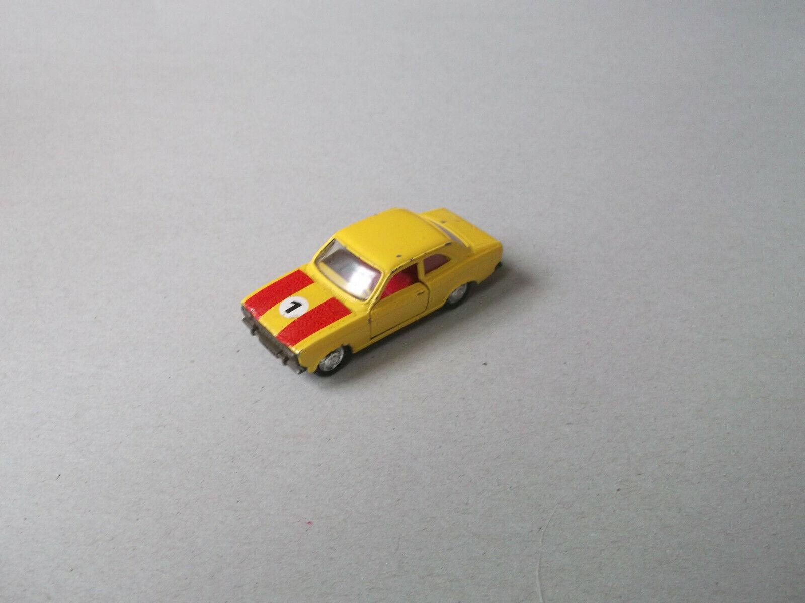 Schuco 1:66 Ford Escort (Tipo 1) Rally, NR 301851, 2 strisce rossa, RARO!!!