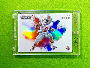 JK-DOBBINS-PRIZM-ROOKIE-CARD-JERSEY-2-OSU-RC-COLOR-BLAST-2020-Prizm-Draft-Picks