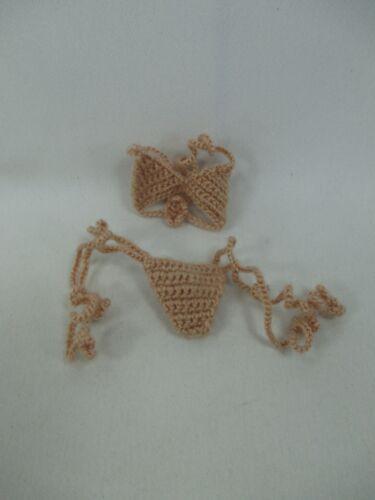Handcrafted Crochet bikini set underwear bra for Blythe Doll #4