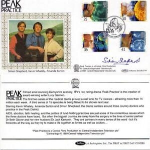 1994-MEDICAL-DISCOVERIES-BENHAM-HAND-SIGNED-SIMON-SHEPHERD-FIRST-DAY-COVER-SHS