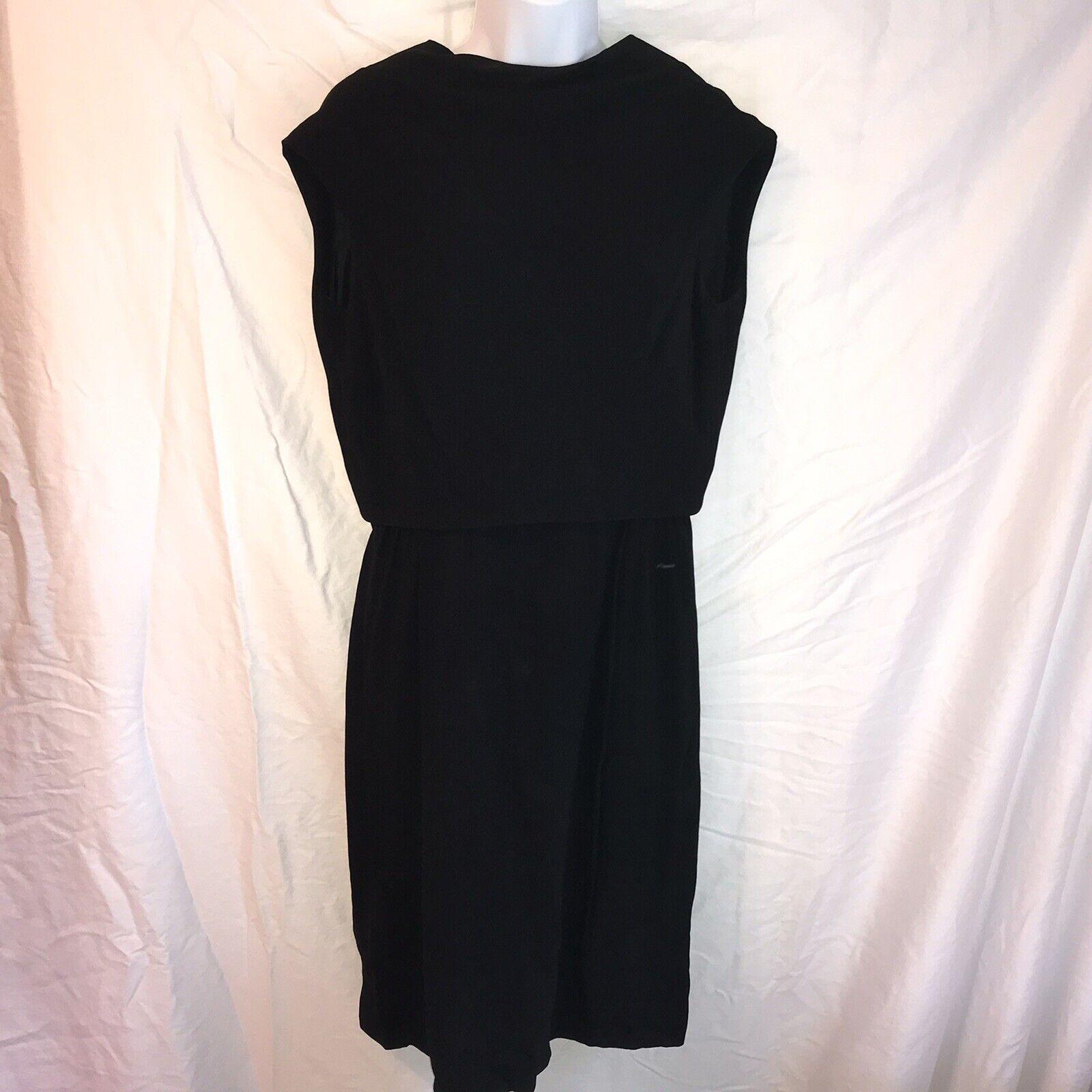 Ceil Chapman Vintage Black Dress - image 1
