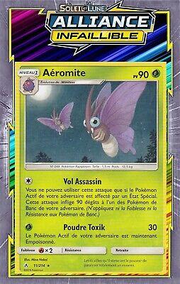 Rare Aéromite Pokemon SL10-11//214 VF Français