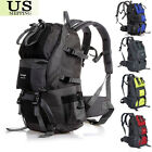 50L Outdoor Backpack Hiking Bag Camping Travel Waterproof Pack Mountaineering OY