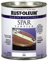 Rust-oleum 207008 Marine Spar Varnish 1-quart, New, Free Shipping on Sale