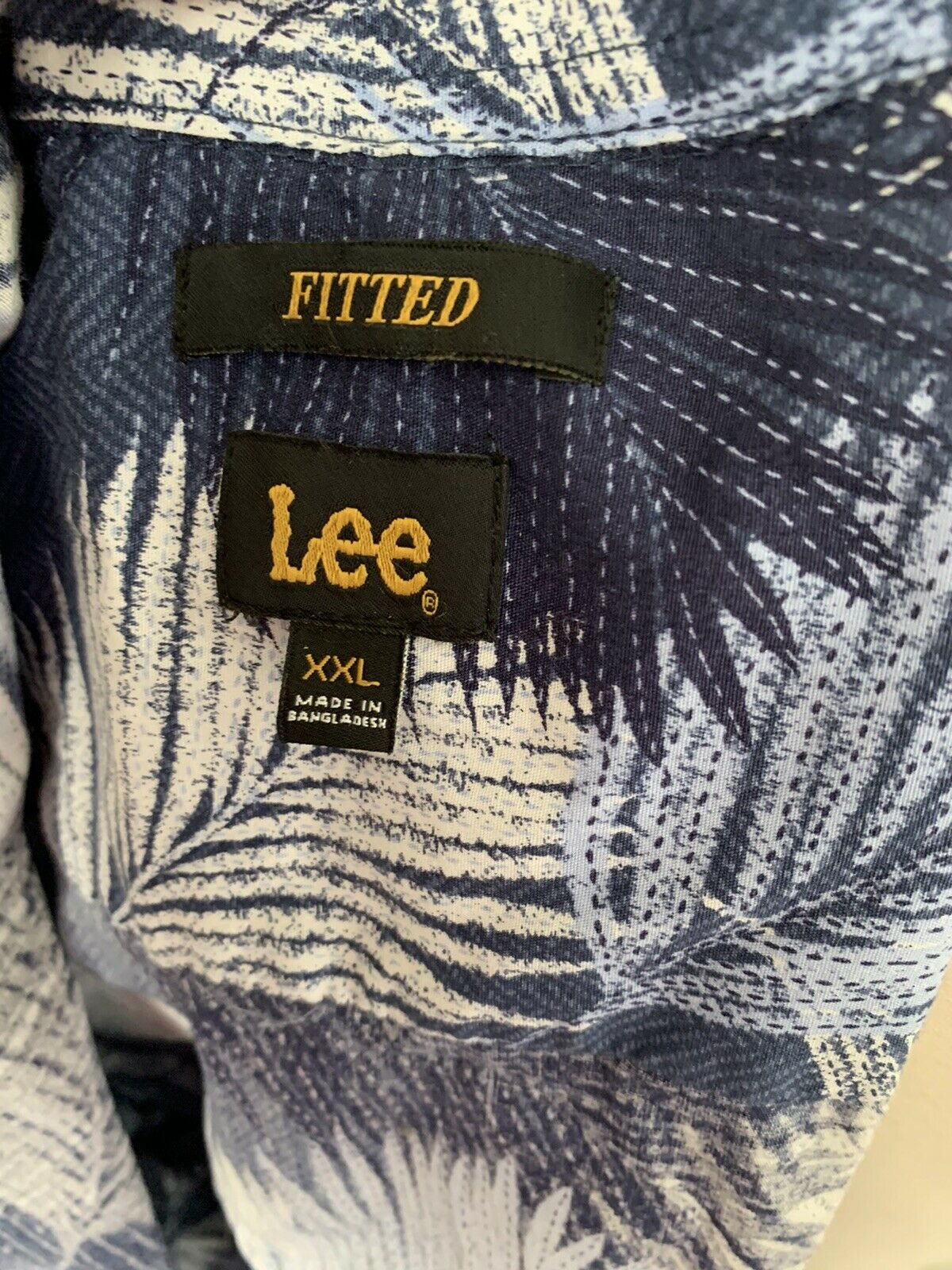 LEE Men's Fitted Button Down Shirt - image 3