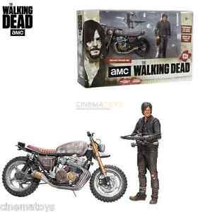 The Walking Dead Amc Tv Daryl Dixon & Nouvelle figurine d'action de luxe pour vélos Mcfarlane