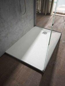 Piatto doccia effetto pietra ardesia in resina e gelcoat h 3cm cupido docciaviva ebay - Piatto doccia mosaico ...