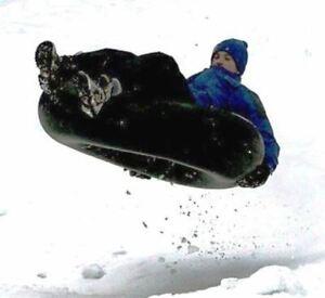 "New HD 40"" Rubber Snow Tube Winter Sledding Tubing 8.25-20 FREE Shipping 552-488"