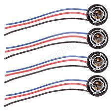 4X 1157 1158 2057 2357 Plug Wiring Harness Sockets For Turn Signal Light Bulb