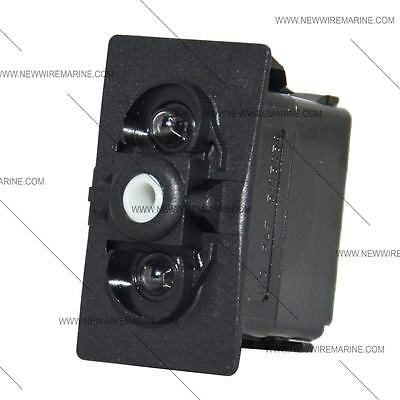 CARLING CONTURA ROCKER SWITCH ON//OFF//ON VJD1S00B VVCZY 6 TERMINALS DPDT WHITE