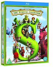 Shrek 1-4 Four Movie Collection Blu-Ray Box Set BRAND NEW Free Shipping