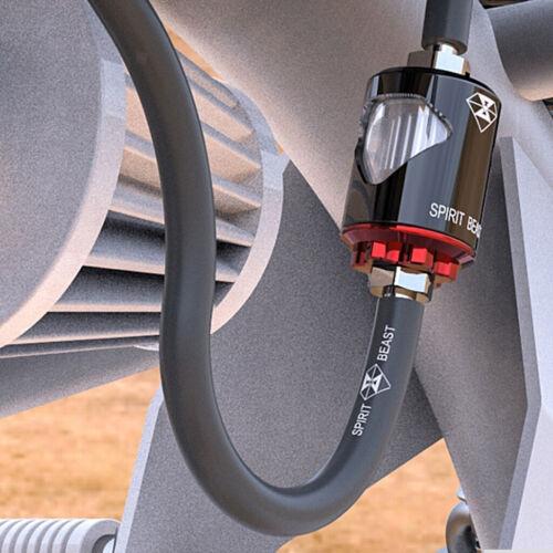 ID 5mm 1M Grau Motorrad Weichgummi Kraftstoffleitung Benzinschlauch