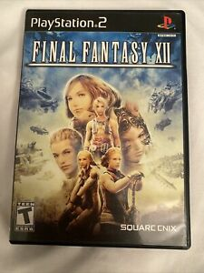 FINAL-FANTASY-XII-12-Sony-Playstation-2-PS2-Video-Game-Square-Enix-COMPLETE