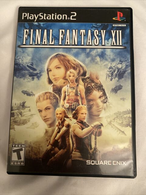 FINAL FANTASY XII 12 Sony Playstation 2 PS2 Video Game Square Enix *COMPLETE*