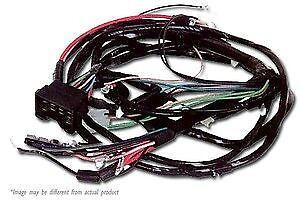1968 1969 pontiac gto & lemans engine & front light wiring ... 1967 gto wiring harness diagram 1968 gto wiring harness