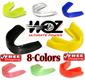 Mouthguard Boil Bite Teeth Grinding Gum Shield MMA Boxing Mouth Guard Case