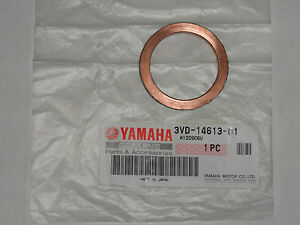 Copper Exhaust Gasket For Yamaha YZ 450 F 2008