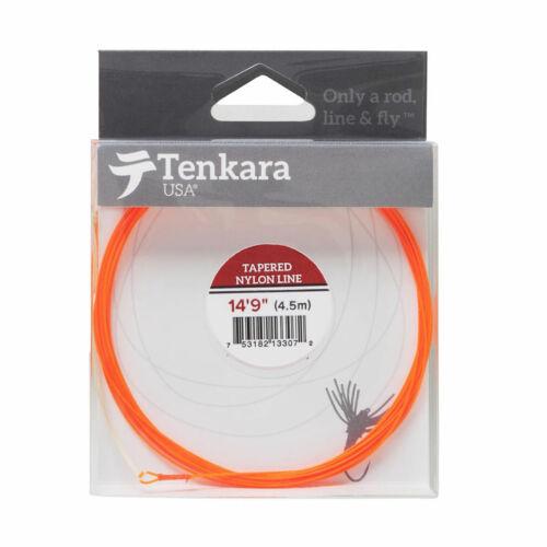 """Tenkara USA Tapered Nylon Fly Line 14/'9/"""""""