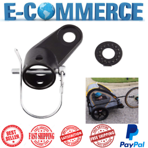 Bike Trailers Bicycle Coupler Angled Elbow Attachment Hitch For InStep New
