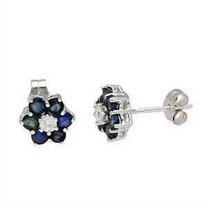 Pendientes-Mujer-Oro-18K-Flor-Diamantes-Zafiros-Rubies-y-Esmeraldas