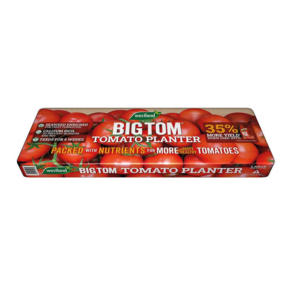 2 x Westland big tom tomato planter compost FREE TOMATO FEED PER ORDER Growbag
