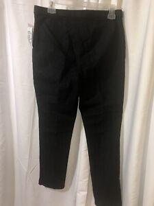 Kim Rogers Capri Pants Womens 10 Blue Stretch Cotton Denim Tapered Cropped NWT!