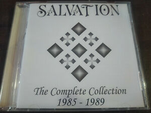 SALVATION - The Complete Collection 1985-1989 CD Goth Rock / Sisters Of Mercy